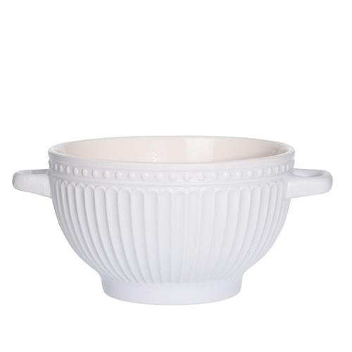 Bol Delicate din ceramica alba 14 cm chicville 2021