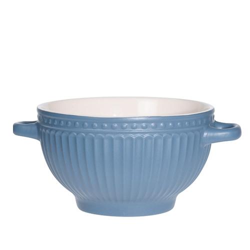 Bol Delicate din ceramica albastra 14 cm chicville 2021