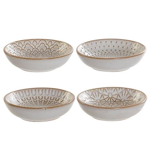 Bol din ceramica Marble crem 9 cm - diverse modele chicville 2021