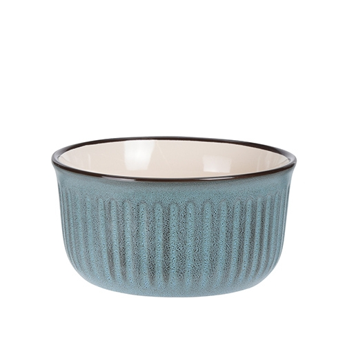 Bol Dots din ceramica turcoaz 13 cm chicville 2021