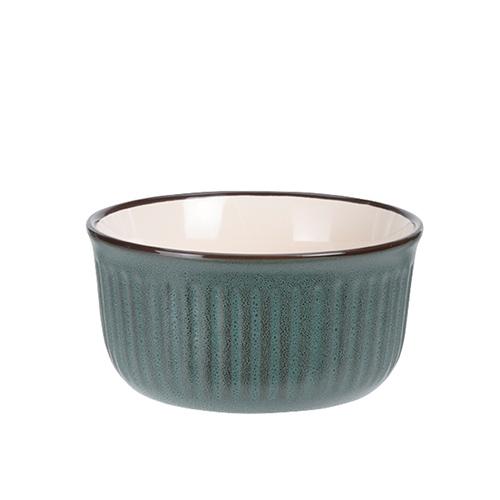 Bol Dots din ceramica verde 13 cm chicville 2021
