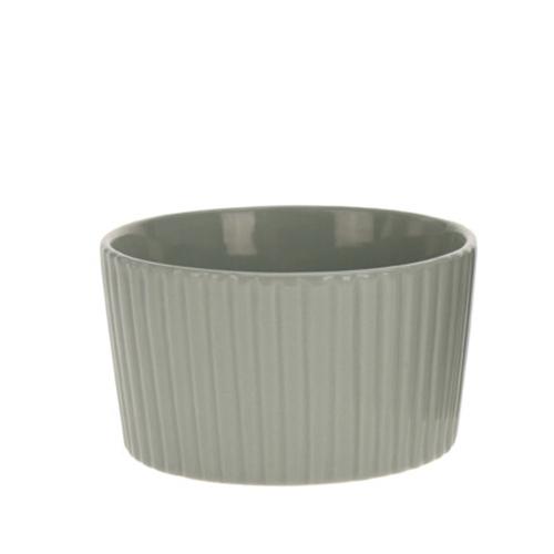 Bol Groove din ceramica verde 7 cm chicville 2021