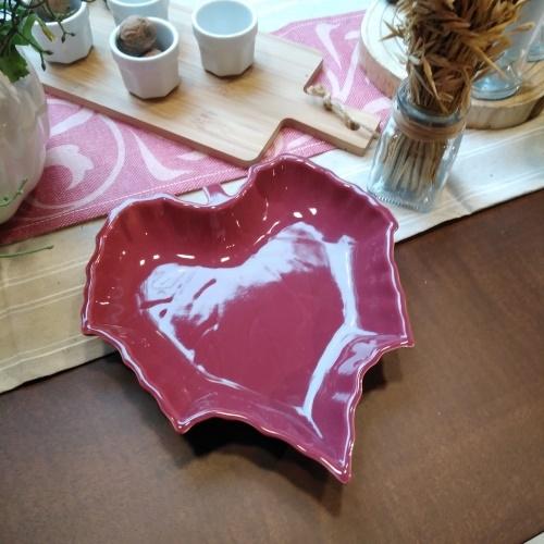 Bol Burgundy din ceramica 23 cm chicville 2021