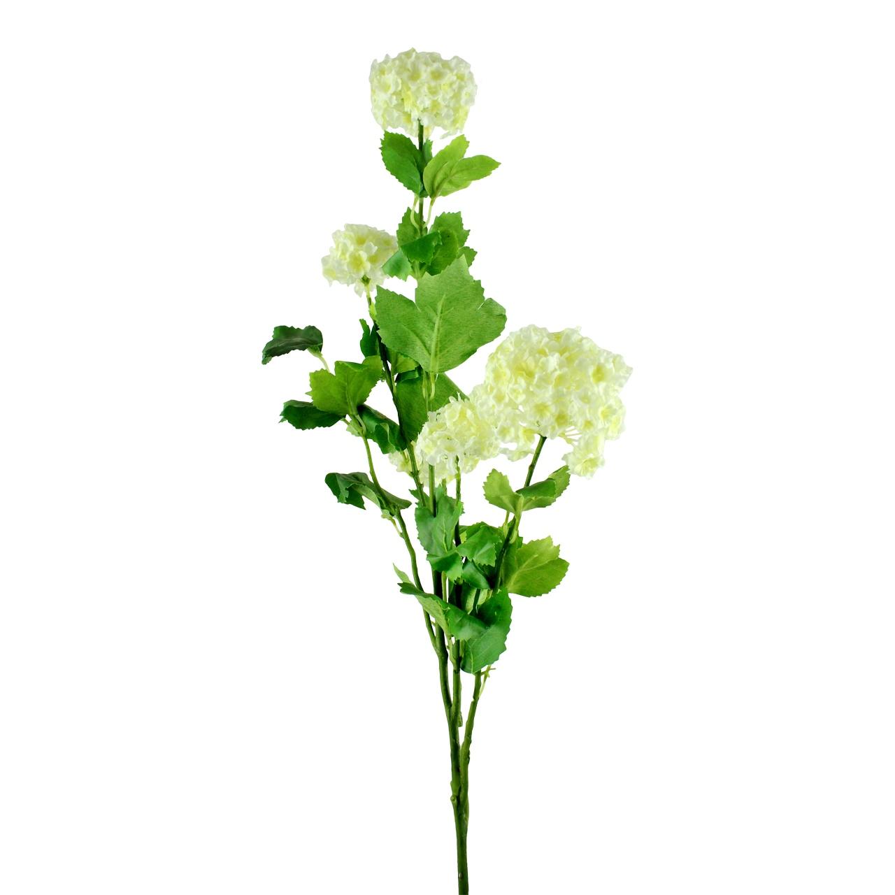 Floare decorativa Minge de mai crem 97 cm( 391575)