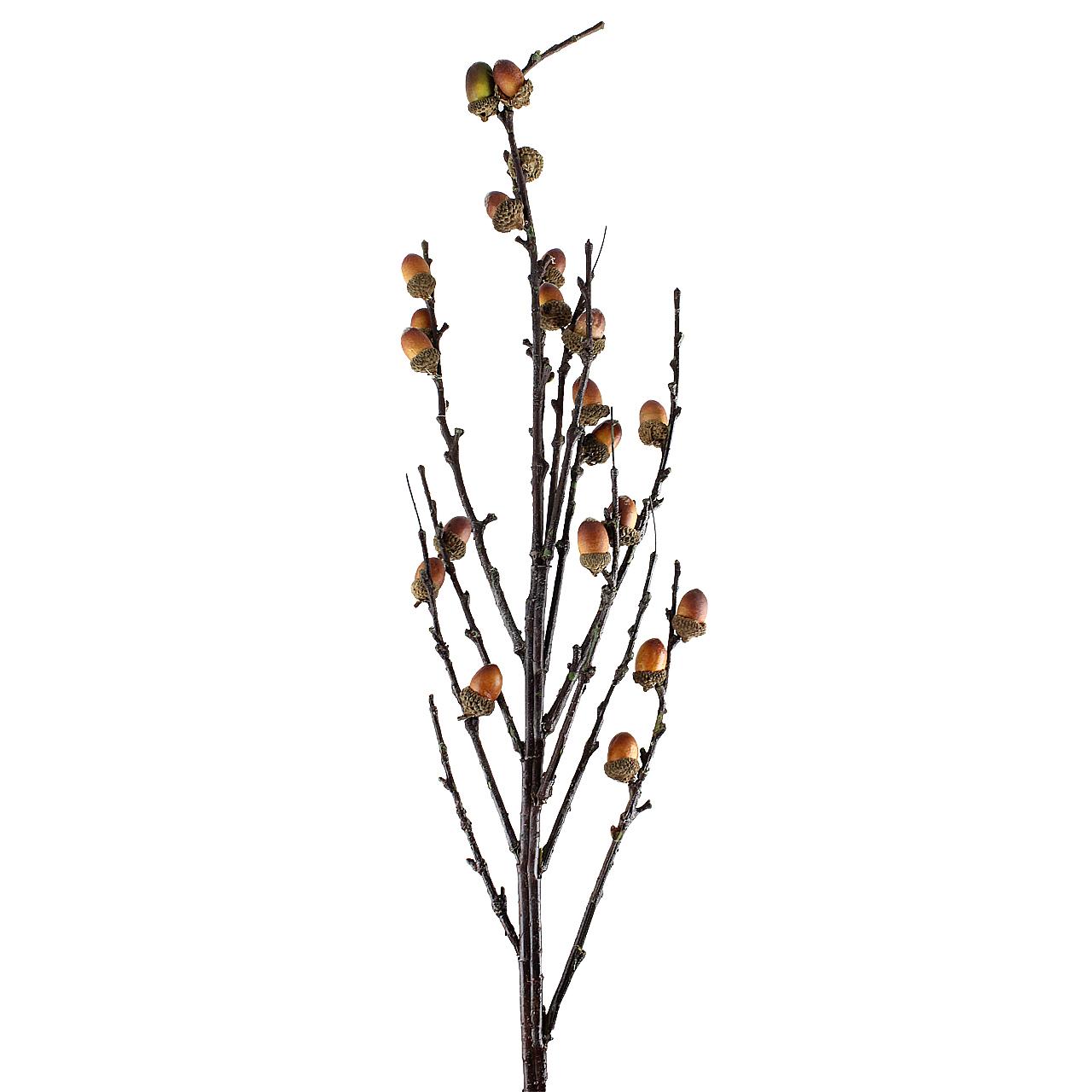 Ramura decorativa cu ghinde 110 cm( 391542)