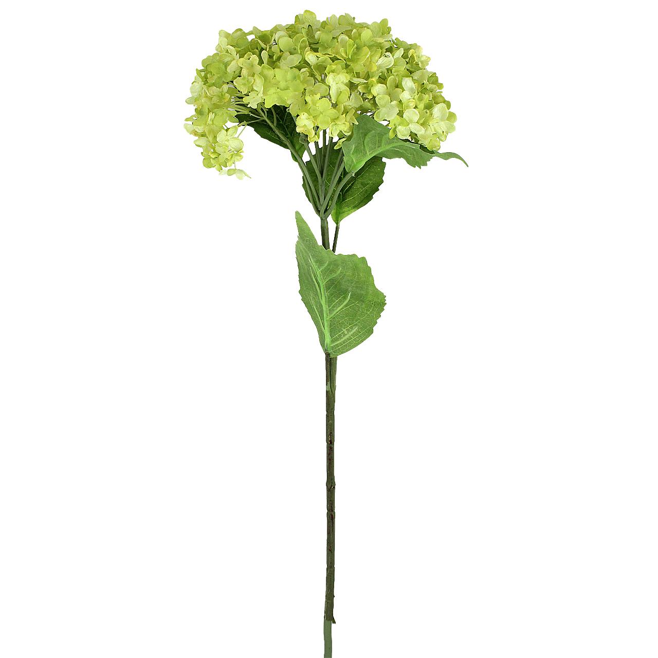 Floare decorativa Hortensie verde 75 cm( 391574)