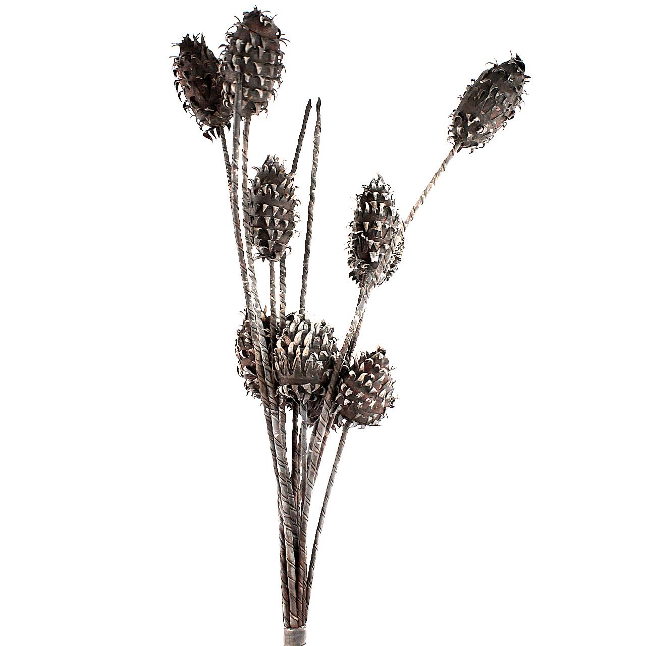 Floare decorativa Scai maro 140 cm( 391532)