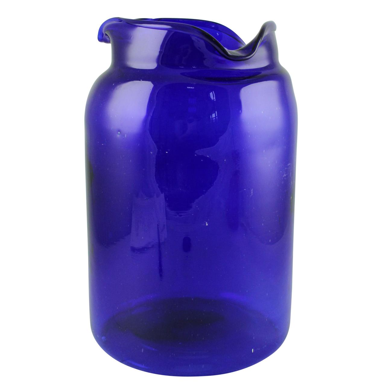 Vaza Blue din sticla albastra 35 cm( 391641)