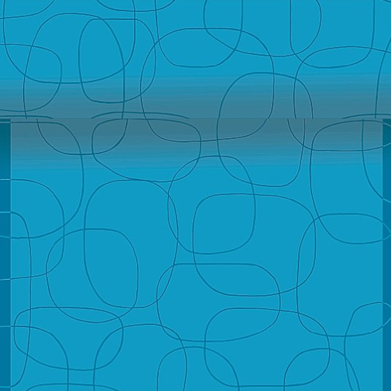 Napron decorativ din hartie albastra cu cercuri chicville 2021