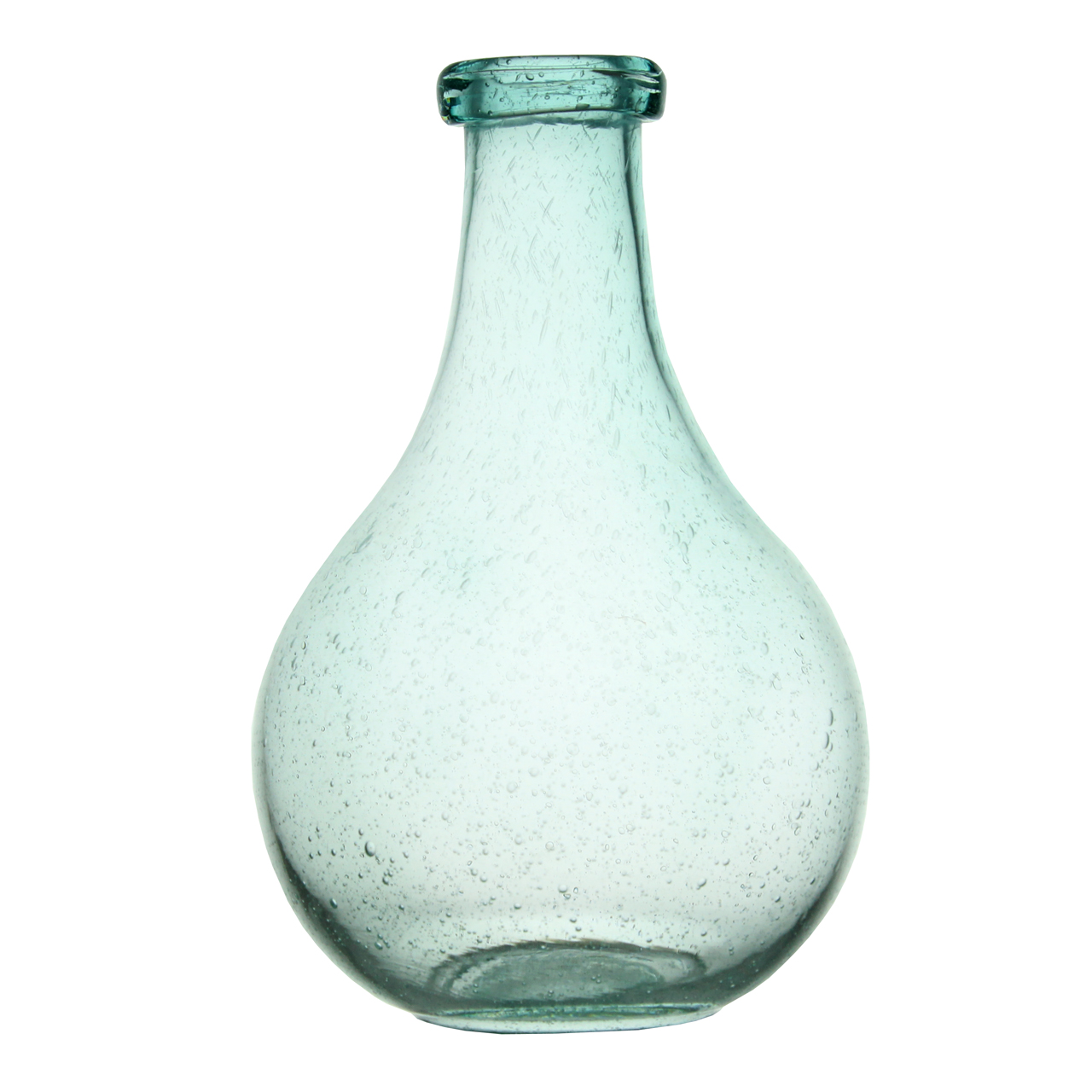 Vaza Fairy din sticla albastra 29 cm( 391801)