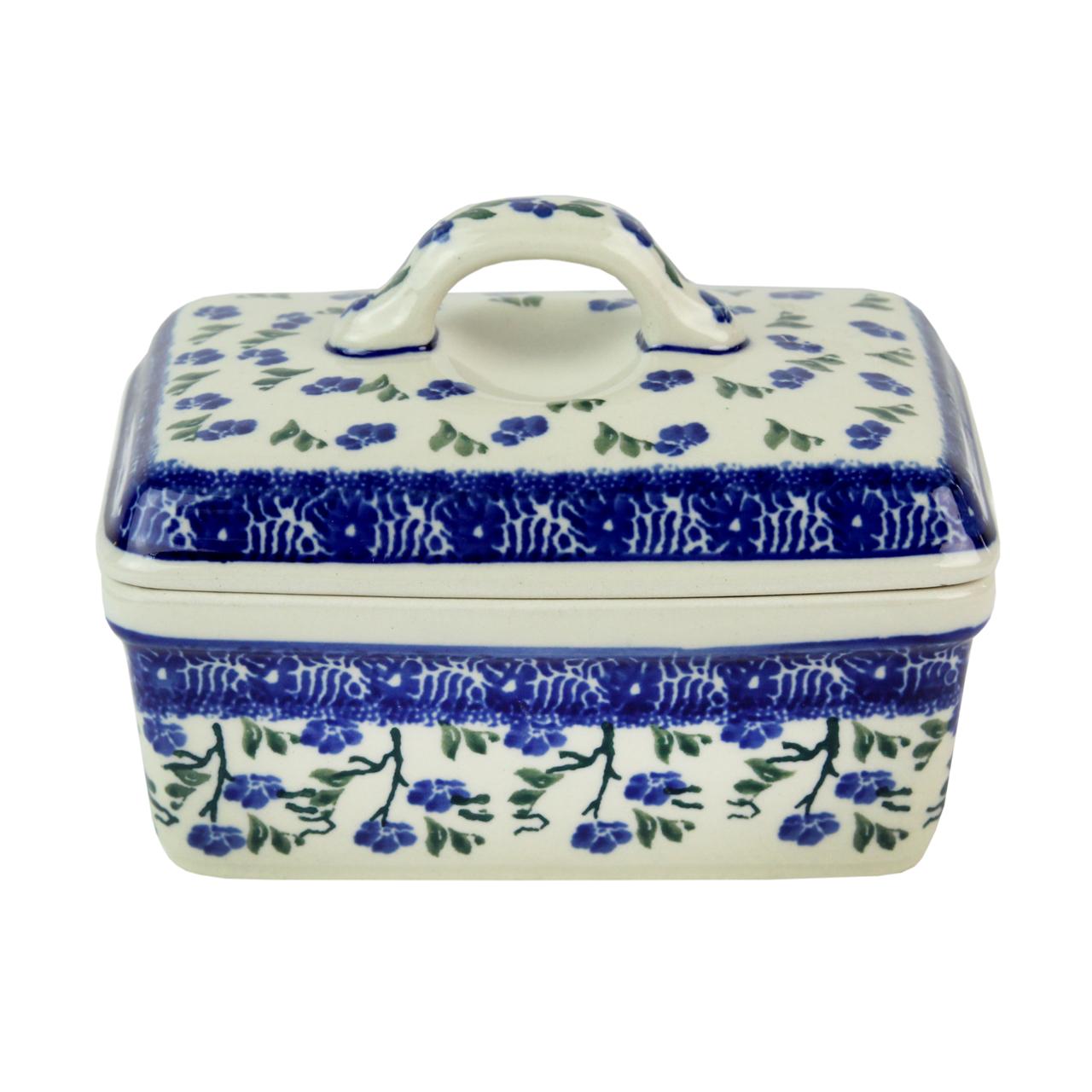 Untiera din ceramica crem cu crengute 15x10 cm chicville 2021