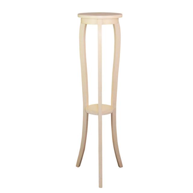 Suport pentru flori Miro din lemn alb 125x30 cm chicville 2021
