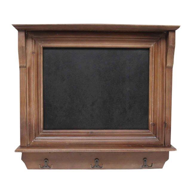 Tabla de scris din lemn maro 48x45 cm( 391850)