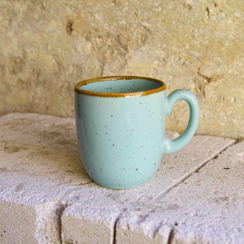 Cana Gardena din ceramica turcoaz 9 cm chicville 2021