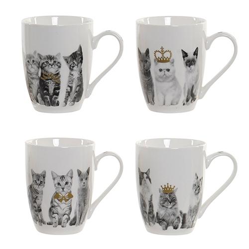 Cana Cats din portelan 10 cm - 4 modele disponibile chicville 2021