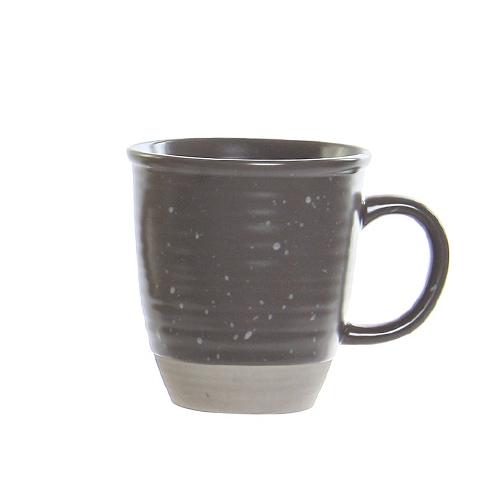 Cana Daily din ceramica gri 11 cm chicville 2021