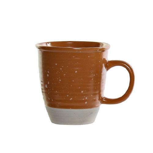 Cana Daily din ceramica portocalie 11 cm chicville 2021