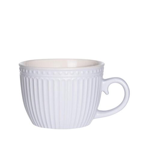 Cana Delicate din ceramica alba 8 cm chicville 2021