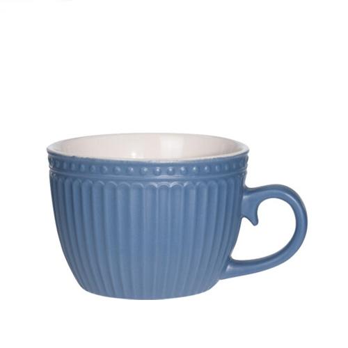 Cana Delicate din ceramica albastra 8 cm chicville 2021