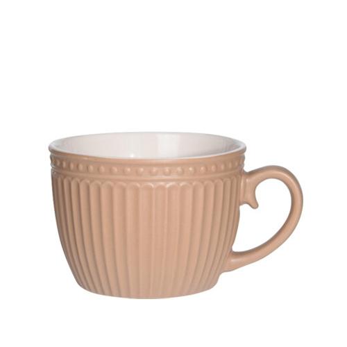 Cana Delicate din ceramica bej 8 cm chicville 2021