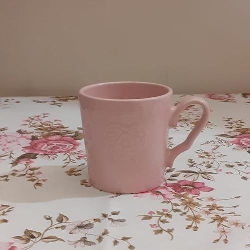 Cana Heart din ceramica roz 9cm chicville 2021