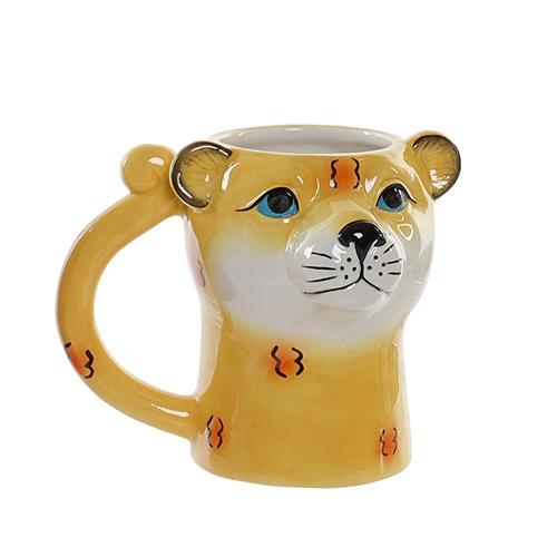 Cana Leopard din ceramica 13.5 cm chicville 2021