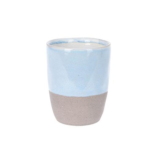 Cana Seaside din ceramica albastra 10 cm chicville 2021
