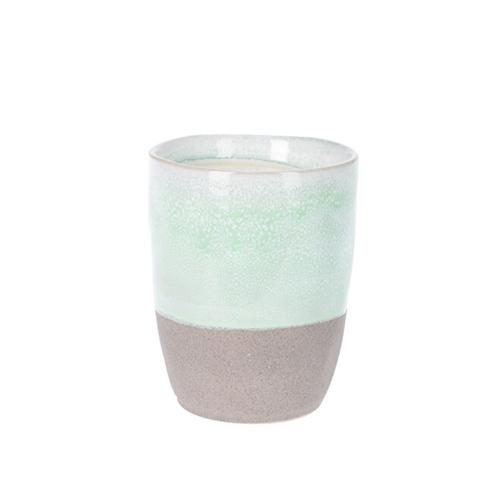 Cana Seaside din ceramica verde 10 cm chicville 2021