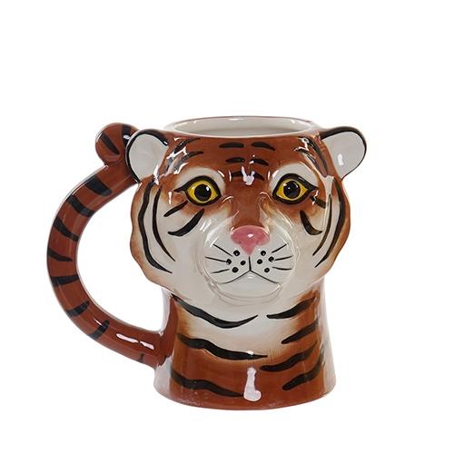 Cana Tiger din ceramica 13.5 cm chicville 2021