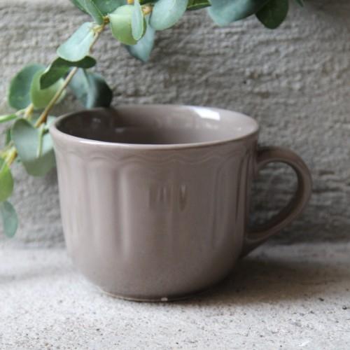 Cana Delicacy din ceramica taupe 9 cm chicville 2021