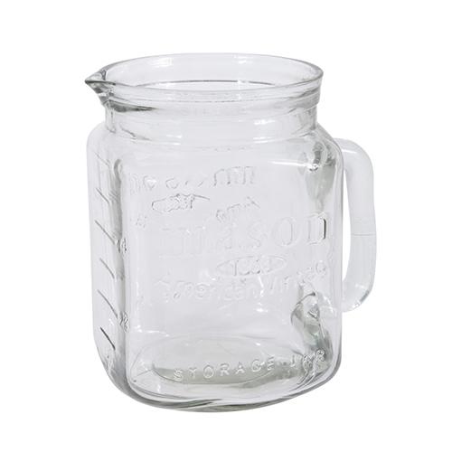 Carafa Mason din sticla 18 cm chicville 2021