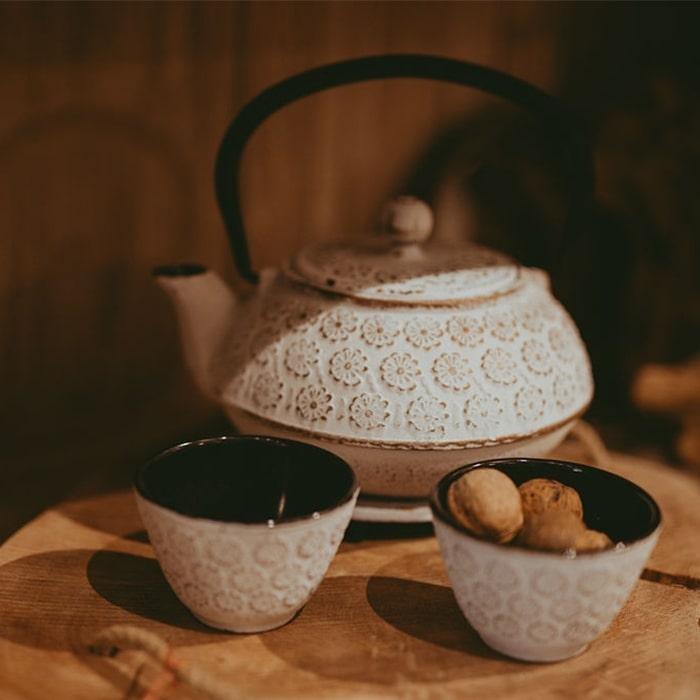 Set Chai cu ceainic suport si cesti chicville 2021