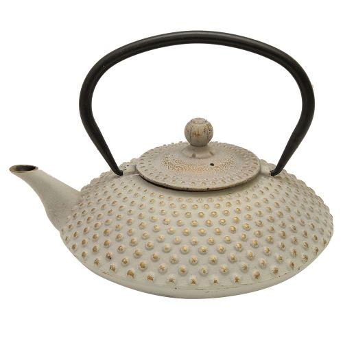 Ceainic Asia din fonta gri 21 cm chicville 2021