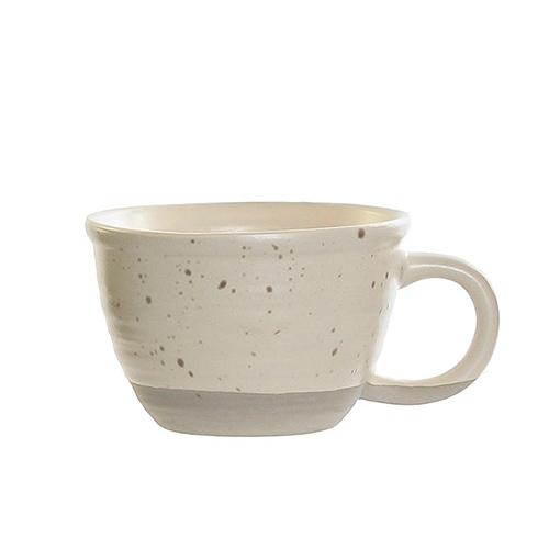 Ceasca Daily din ceramica crem 6 cm chicville 2021