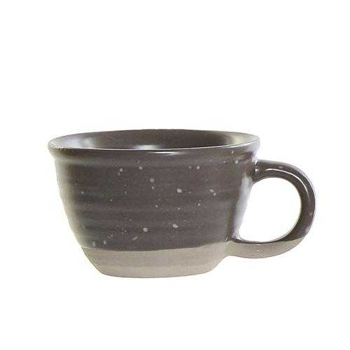 Ceasca Daily din ceramica gri 6 cm chicville 2021