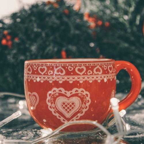 Ceasca Winter din ceramica 10 cm - modele diverse chicville 2021