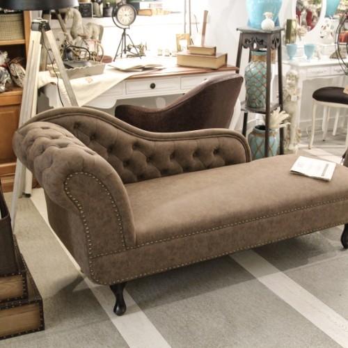 Chaise longue Brown 60x80x175 cm