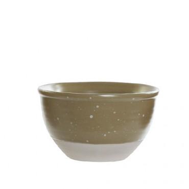 Bol Daily din ceramica verde 13 cm