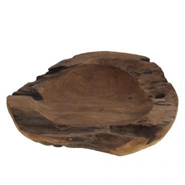Bol Rustic din lemn 40 cm