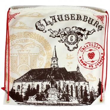 Rucsac cu imprimeu Biserica Sf. Mihail Clausenburg