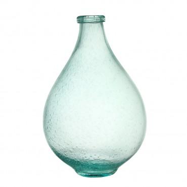Vaza Fairy din sticla albastra 35 cm