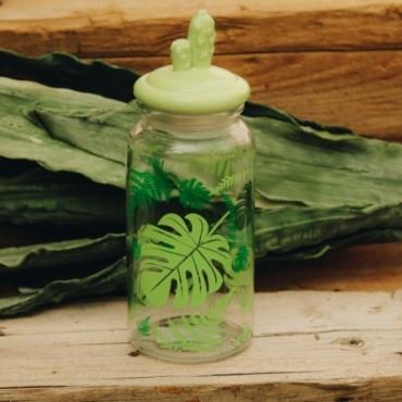 Recipient Cactus din sticla 28 cm