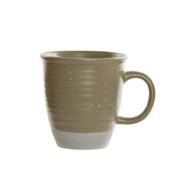 Cana Daily din ceramica verde 11 cm