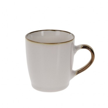 Cana Delicate din portelan alb 9 cm