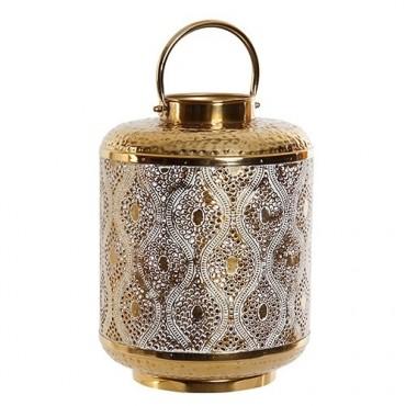 Candela Romance din metal auriu 33 cm