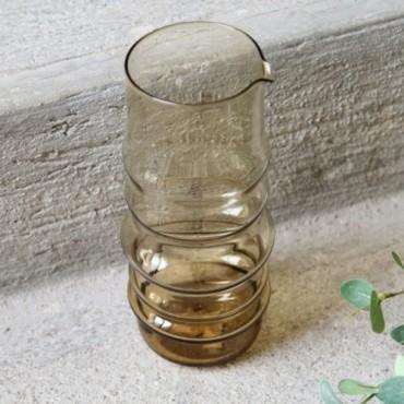 Carafa Amber din sticla 23 cm