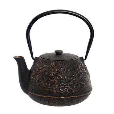 Ceainic Dragon din fonta 17 cm