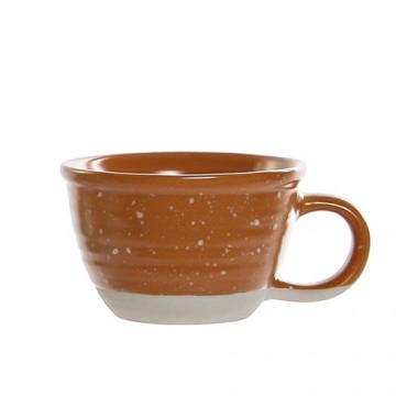 Ceasca Daily din ceramica portocalie 6 cm
