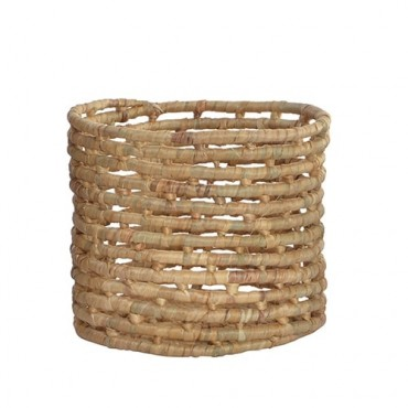 Cos impletit Spirals din fibre 30x21 cm