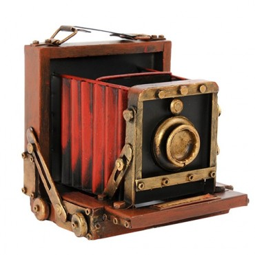 Deco Photo Camera 18 cm